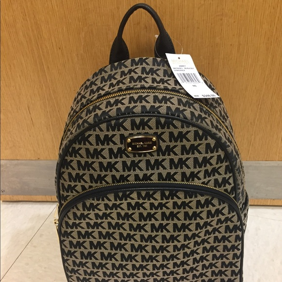 0d68f802cb36 Michael Kors Bags | Nwt Abbey Backpack Large | Poshmark